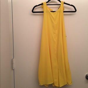 Zara Yellow ROMPER