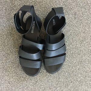 H&M Black Sandals Size 8