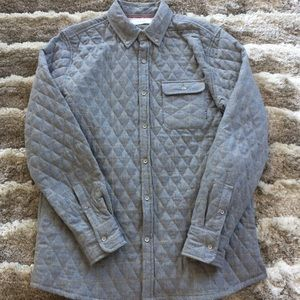 Five Four Men's Quilted Button Down Shirt
