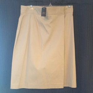 Khaki Brooks Brother's skirt