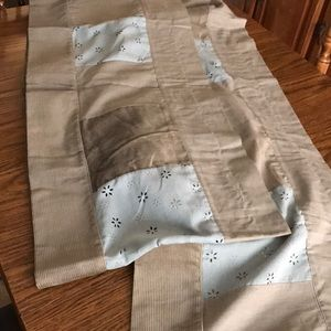 Valance curtains set of two