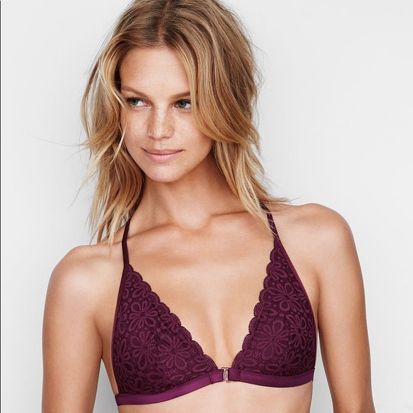 68058dba6a9835 New VICTORIA s Secret Front-close Bralette