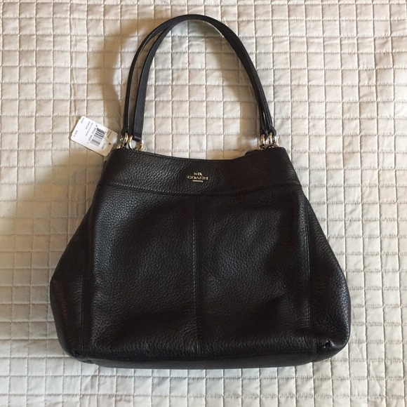 Coach Lexy shoulder bag LEATHER NWT b99334497e47a