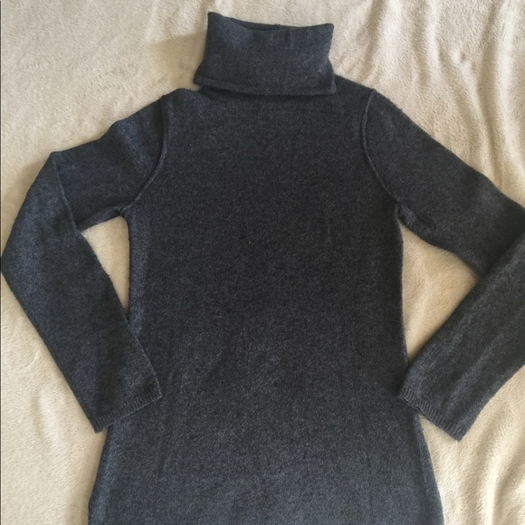 67% off GAP Sweaters - Charcoal grey turtleneck sweater from ...