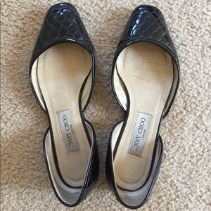 Authentic Jimmy Choo flat used