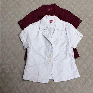 Jackets & Blazers - FINAL SALE Bundle of Short Sleeve Blazers