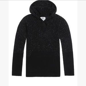 On the byas knit pullover hoodie