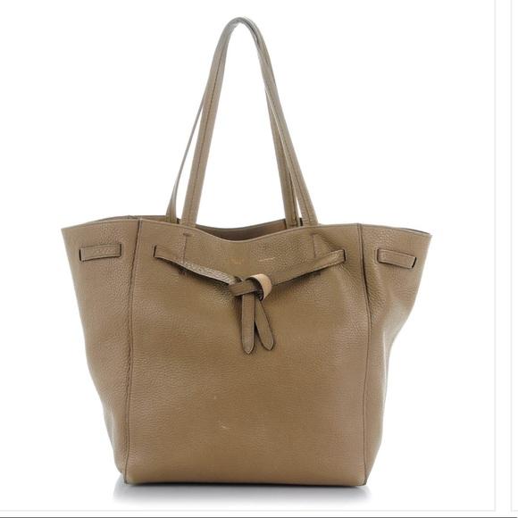 Celine Handbags - Celine Small Belted Cabas Phantom Tote ca77f2fe4f7fa