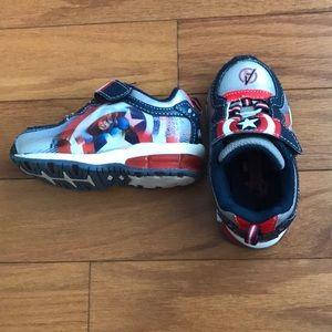 Avengers Captain America Toddler Shoes