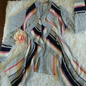 Sweaters - ❤Cardigan (stripe)