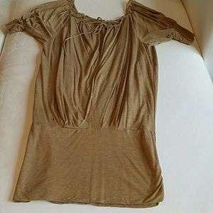 Bcbg maxazria beige tunic/dress