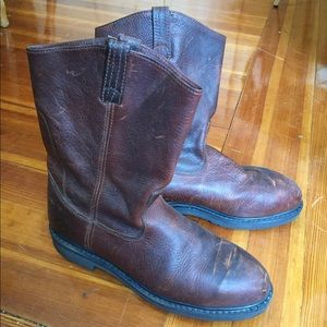 Size 12 MENS leather work boots