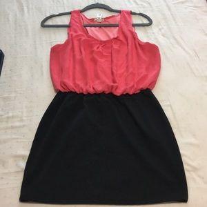 Dresses & Skirts - Black and Pink Salmon