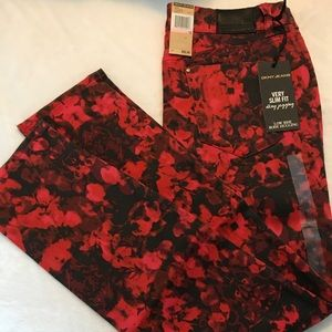 🔥Red Hot🔥Red & Black DKNY Skinny Jeans🆕NWT