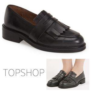 NEW!  TopShop Kitty Fringe Loafer