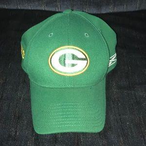 Green Bay Packer hat!