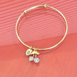 Jewelry - Juicy Couture sparkle apple bracelet