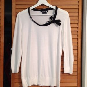 Cool Etcetera winter white knit