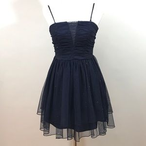 Teen Formal Navy Dress Homecoming Prom Size 5