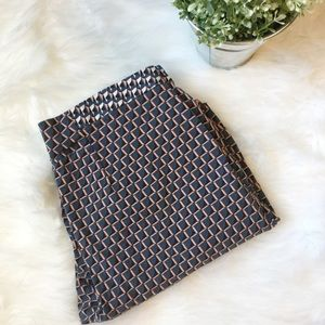 TOPSHOP Printed Geometric Trouser Pants