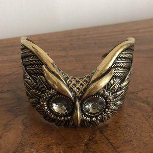 Beautiful owl cuff ny fossil!