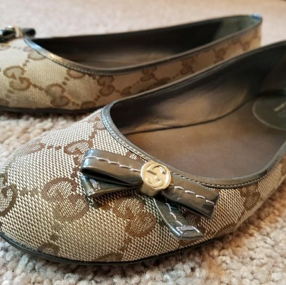 ce371f08cb3 Gucci Shoes - Authentic Gucci Ballerina Flats