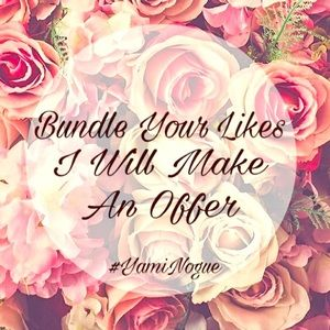 ✨Bundle Your Likes - I Will Make You An Offer✨