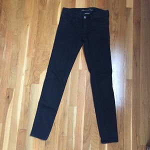 American Eagle Outfitters Pants - AE Faded Black Super Stretch Jeggings
