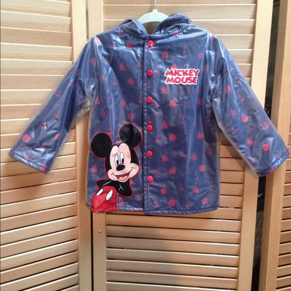 Mickey Mouse Toddler Rain Jacket
