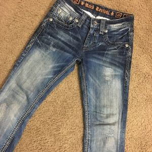 Rock Revival Slim Straight! Great Condition!!