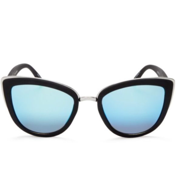 79cfa2044e82d Quay My Girl Sunglasses Blue Mirror Lens. M 59b5a76e5a49d0172705ae71
