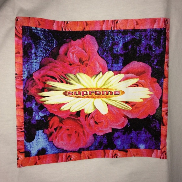 e2163ff5 Supreme Shirts | In Bloom Tee In White | Poshmark