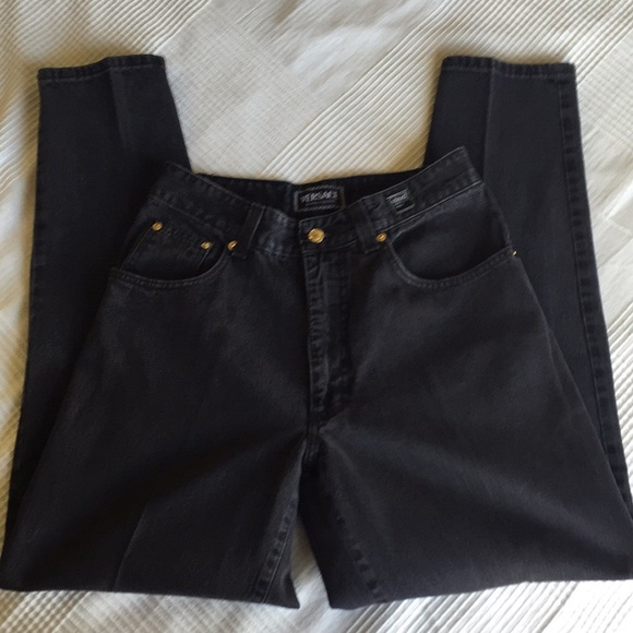 67c2901bddcfb Vintage Versace high waist mom jeans. M 59b5a7062ba50a064405a0b1
