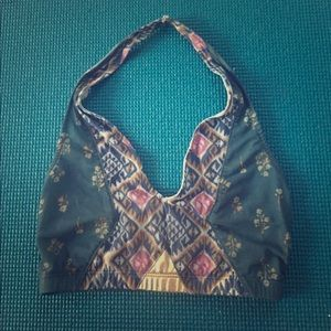 Out From Under Printed Halter Bra - NWOT