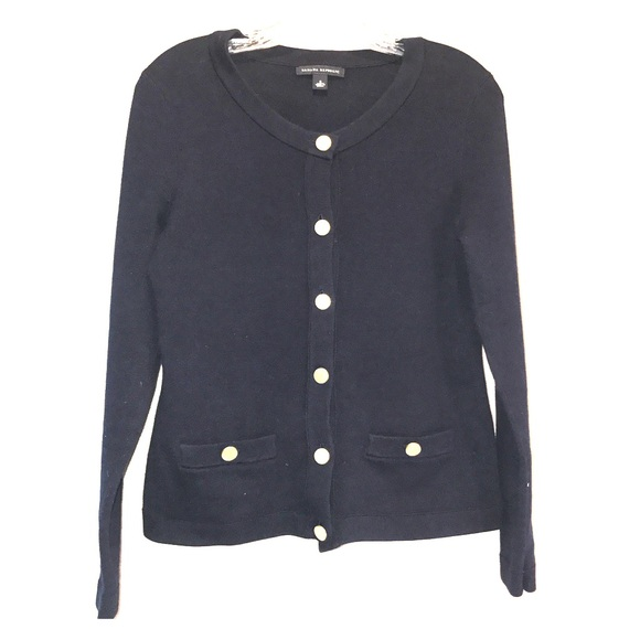 75% off Banana Republic Sweaters - Banana Republic Navy Sweater w ...