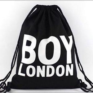 Handbags - BOY LONDON drawstring backpack