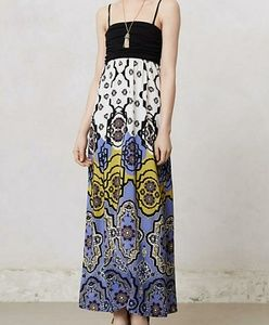 Anthropologie Mendocino maxi dress by Lilka