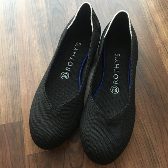 Shoes | Rothys Black Flats | Poshmark