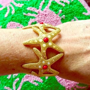 Lilly Pulitzer Gold Starfish Bracelet