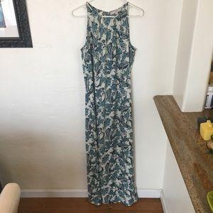 Lightweight Ann Taylor Paisley Print Maxi Dress