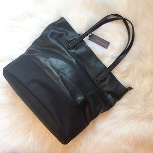 NWT Rebecca Minkoff Manfield Tote black leather