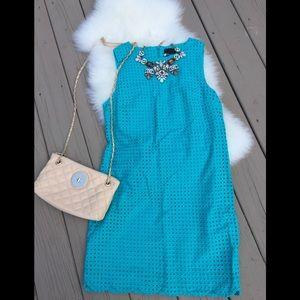 Cynthia Rowley mint blue embraced dress 👗