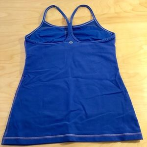 lululemon athletica Tops - Lululemon Power Y tank in vibrant periwinkle