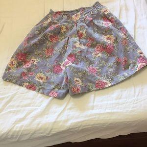 Vintage high waist floral bloomers