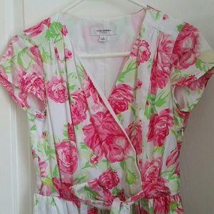 Isaac Mizrahi floral dress, Size 8