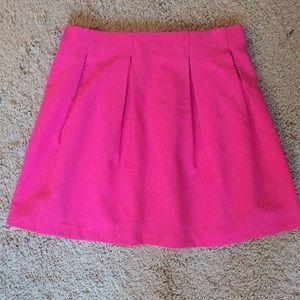 Everly Pink Skater Skirt Size Medium