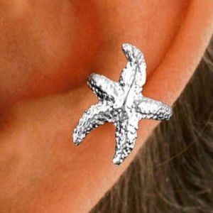 Sterling silver ear cuff