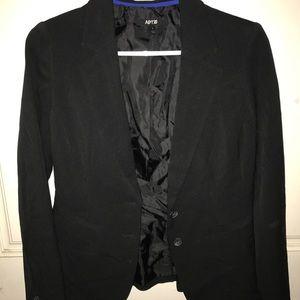 Black business/interview suit jacket
