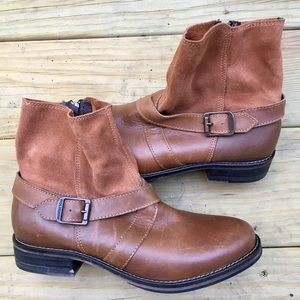 NEW Leather Wolverine Short Boots NWOT