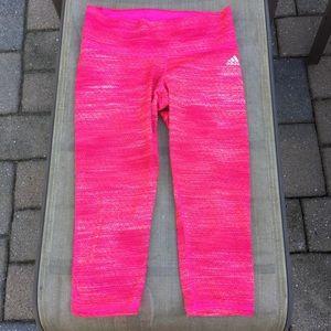 Adidas Pink Tight Running Leggings